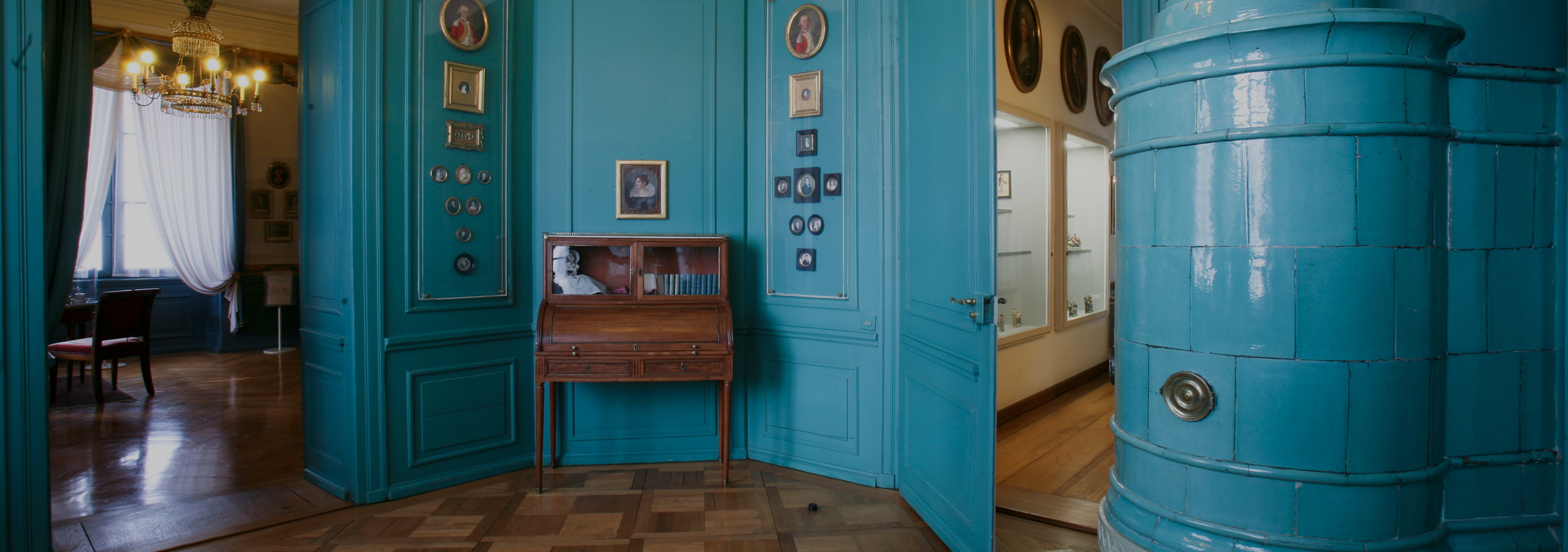 Haus zum Kirschgarten: View of the Cabinet of Miniatures